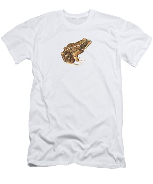 California Red-legged Frog Men's T-Shirt (Slim Fit) by Cindy Hitchcock
