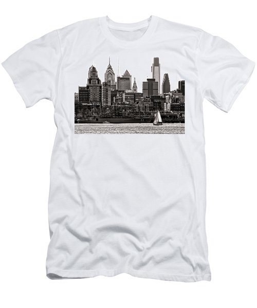 Center City Philadelphia Men's T-Shirt (Athletic Fit)