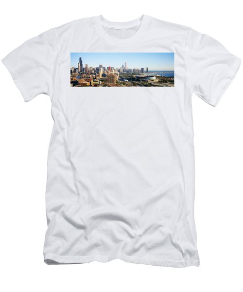 Chicago, Illinois, Usa Men's T-Shirt (Athletic Fit)