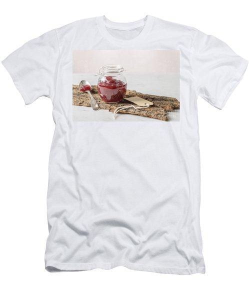 Cranberry Sauce Men's T-Shirt (Athletic Fit)