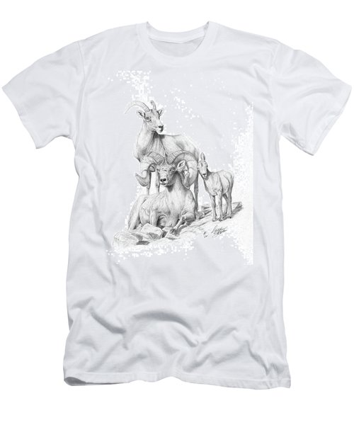 Desert Bighorns Men's T-Shirt (Athletic Fit)