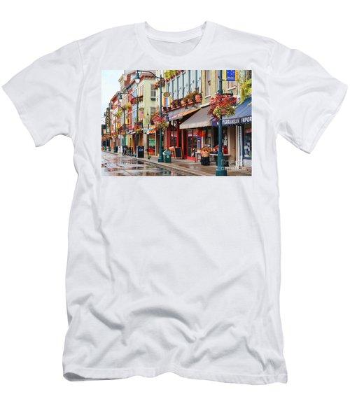 Findlay Market In Cincinnati 0009 Men's T-Shirt (Athletic Fit)