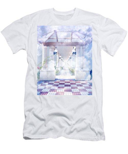 Gateway To Heaven Men's T-Shirt (Athletic Fit)