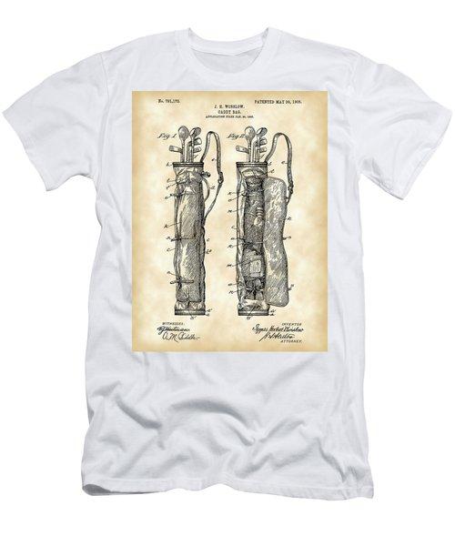 Golf Bag Patent 1905 - Vintage Men's T-Shirt (Athletic Fit)