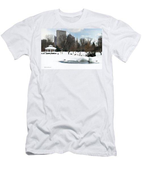 D48l3 Goodale Park Photo Men's T-Shirt (Athletic Fit)