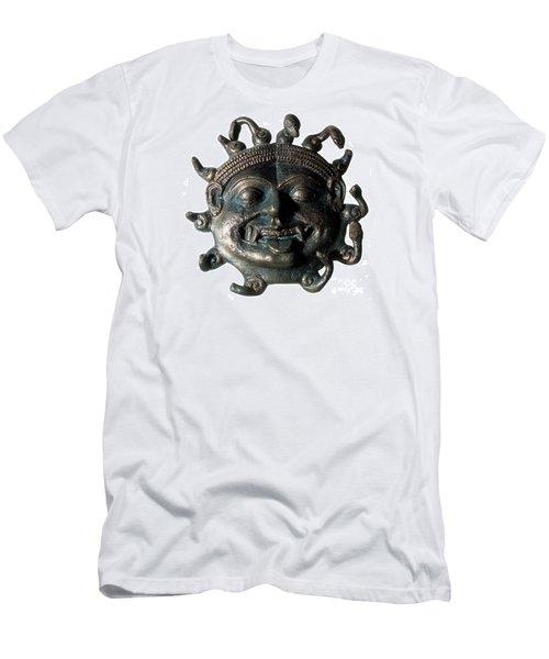 Gorgon Legendary Creature Men's T-Shirt (Slim Fit) by Photo Researchers