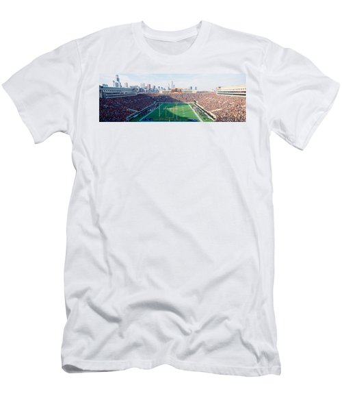 High Angle View Of Spectators Men's T-Shirt (Athletic Fit)