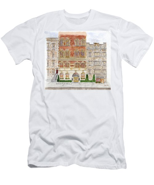 Hotel Washington Square Men's T-Shirt (Athletic Fit)