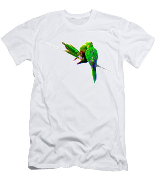 Men's T-Shirt (Slim Fit) featuring the photograph Love Birds by J Anthony