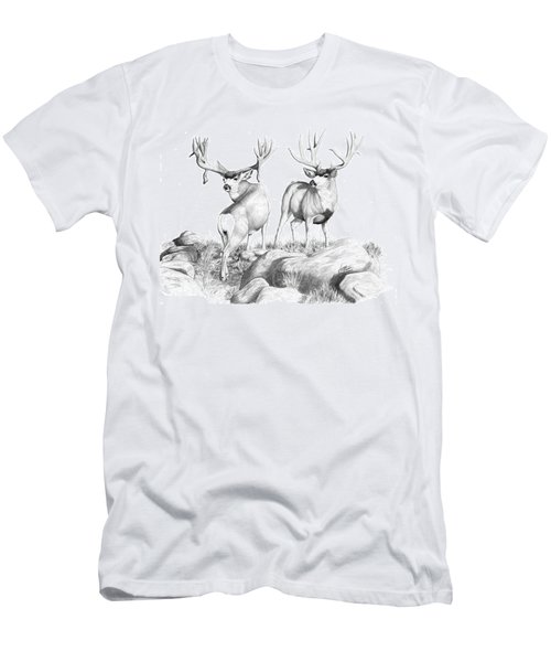 2 Muley Bucks Men's T-Shirt (Athletic Fit)
