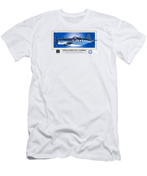 Navy Corsair 29 Men's T-Shirt (Athletic Fit)