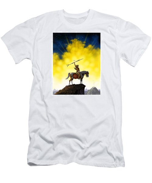 The Signal Men's T-Shirt (Slim Fit) by Scott Ross