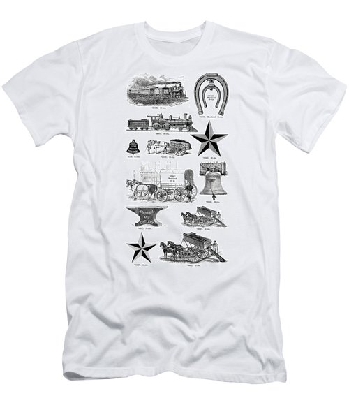 Type Foundry Designs Men's T-Shirt (Athletic Fit)