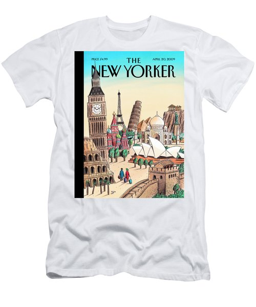 New Yorker April 20th, 2009 Men's T-Shirt (Athletic Fit)