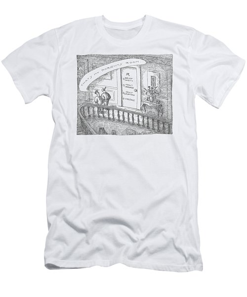 New Yorker March 19th, 2007 Men's T-Shirt (Athletic Fit)