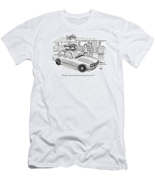 Honey, I Got A Brand-new Bow For Our Car! Men's T-Shirt (Athletic Fit)