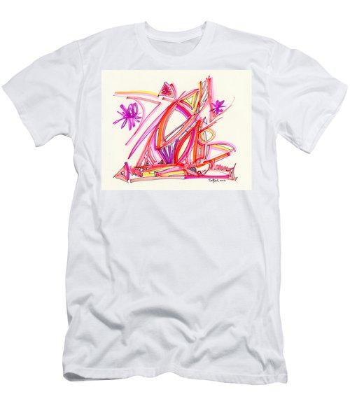 2012 Drawing #30 Men's T-Shirt (Slim Fit) by Lynne Taetzsch