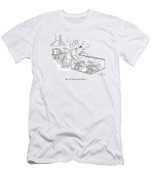 We Will Always Have Paris Men's T-Shirt (Athletic Fit)