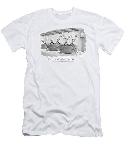 Pete Townshend Vineyards Men's T-Shirt (Athletic Fit)