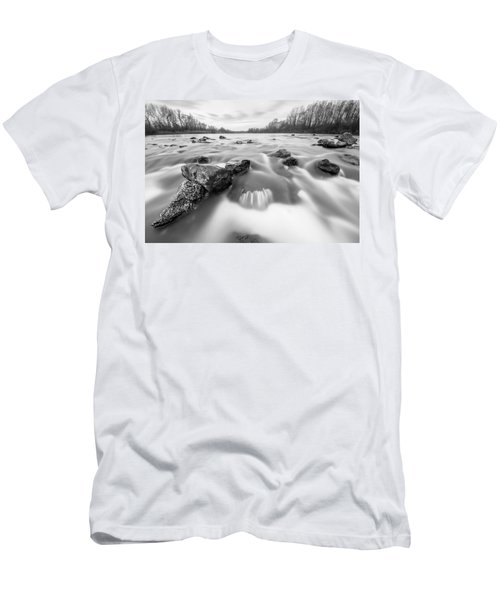 Men's T-Shirt (Slim Fit) featuring the photograph 25. December by Davorin Mance