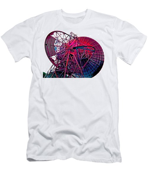 26 East Antenna Abstract 4 Men's T-Shirt (Athletic Fit)