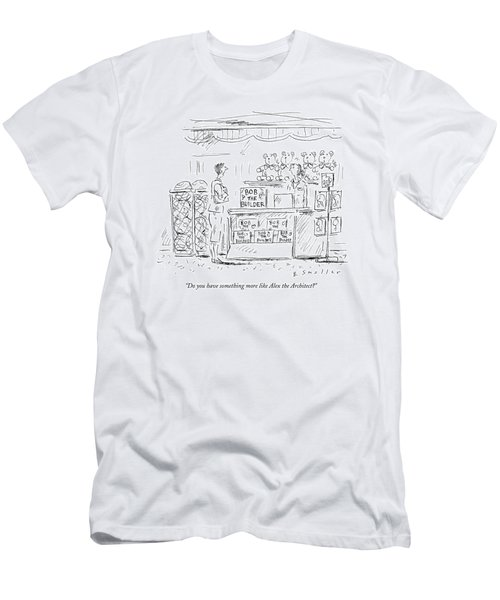 Do You Have Something More Like Alex Men's T-Shirt (Athletic Fit)