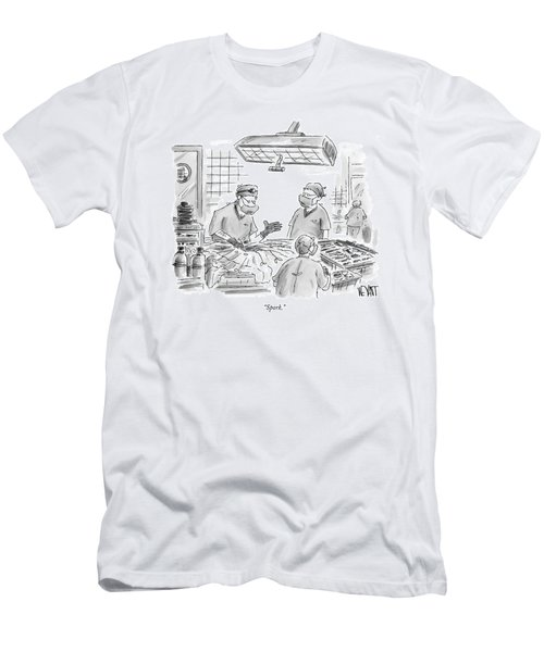 Spork Men's T-Shirt (Athletic Fit)