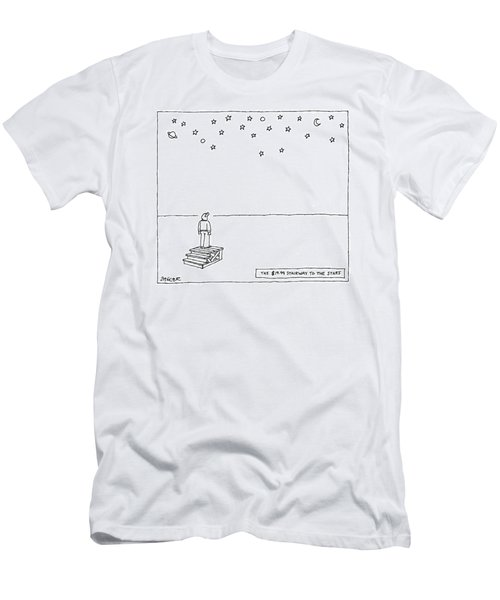 The $19.99 Stairway To The Stars Men's T-Shirt (Athletic Fit)