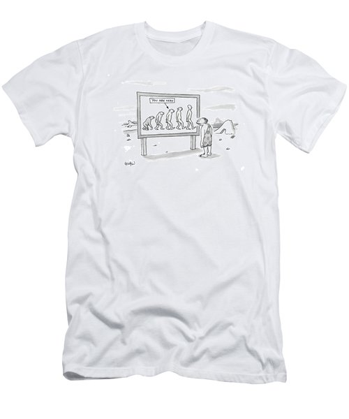 New Yorker December 25th, 2006 Men's T-Shirt (Athletic Fit)
