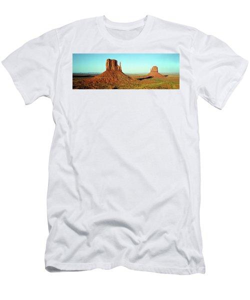 Rock Formations On A Landscape Men's T-Shirt (Athletic Fit)