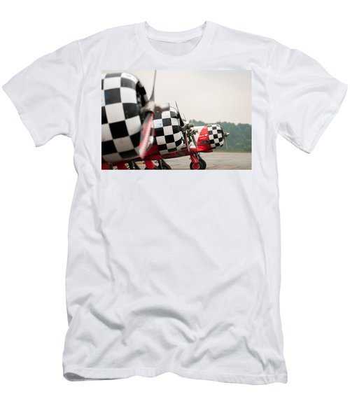Airplanes At The Airshow Men's T-Shirt (Athletic Fit)