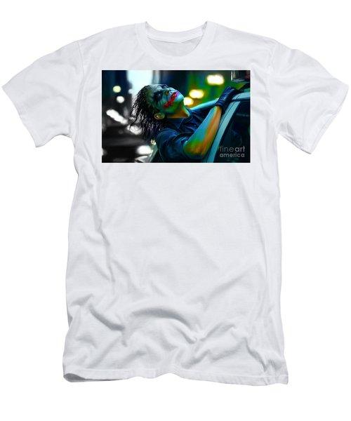 Heath Ledger Men's T-Shirt (Slim Fit) by Marvin Blaine
