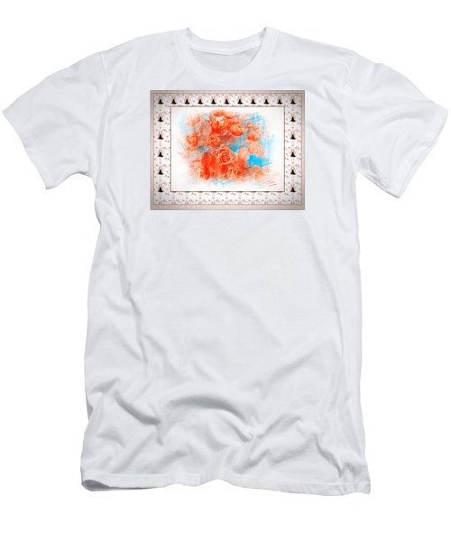 The Orange Roses Men's T-Shirt (Athletic Fit)