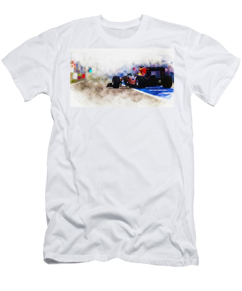 Sebastian Vettel Men's T-Shirt (Athletic Fit)