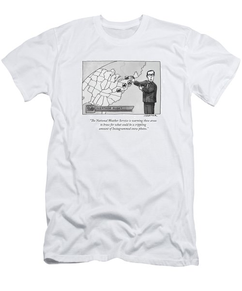 The National Weather Service Is Warning These Men's T-Shirt (Athletic Fit)