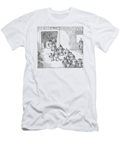 New Yorker December 11th, 2006 Men's T-Shirt (Athletic Fit)