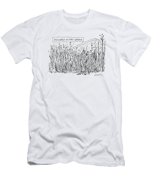 Declared Victory Garden Men's T-Shirt (Athletic Fit)