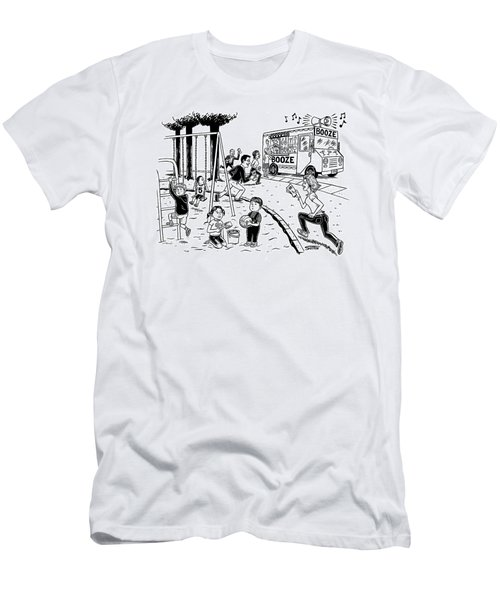 New Yorker July 21st, 2008 Men's T-Shirt (Athletic Fit)