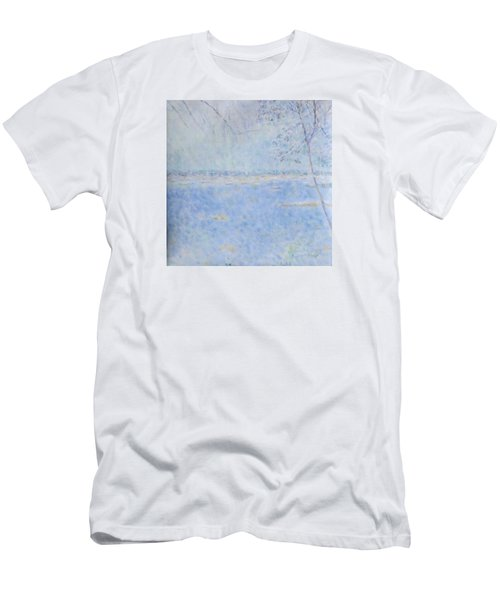 Water Of Les Iles De Lerins France Men's T-Shirt (Athletic Fit)