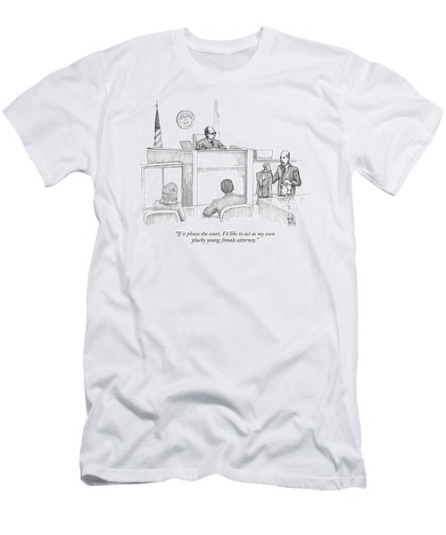If It Please The Court Men's T-Shirt (Athletic Fit)