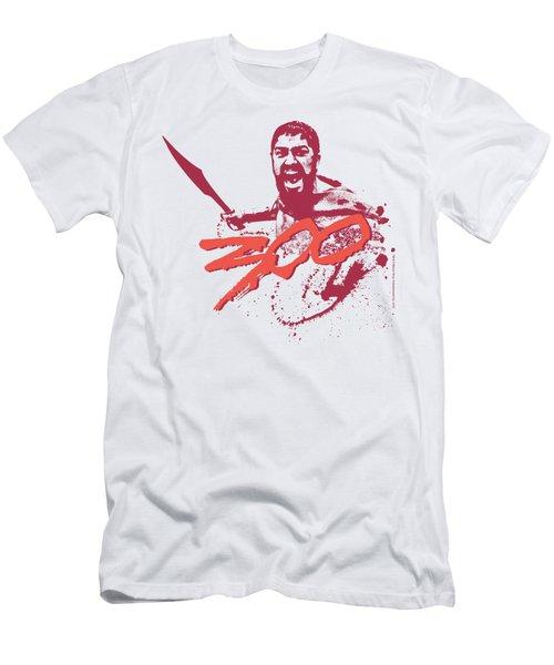 300 - Logo Men's T-Shirt (Athletic Fit)