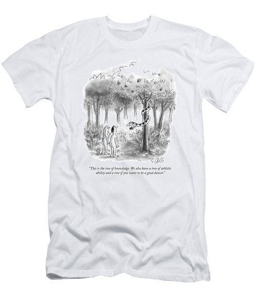 This Is The Tree Of Knowledge Men's T-Shirt (Athletic Fit)