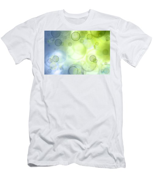 Abstract Circles 44 Men's T-Shirt (Athletic Fit)