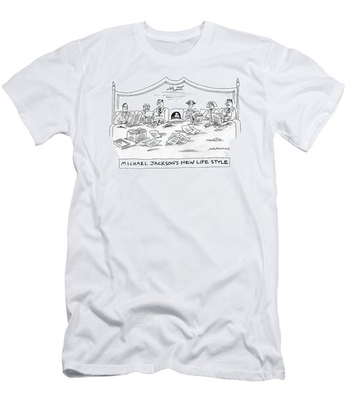 New Yorker July 4th, 2005 Men's T-Shirt (Athletic Fit)