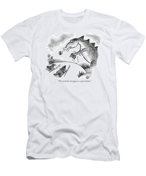 This Tarnishes His Legacy As A Great Hunter Men's T-Shirt (Athletic Fit)