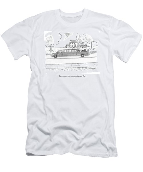 Lawn Care Has Been Good Men's T-Shirt (Athletic Fit)