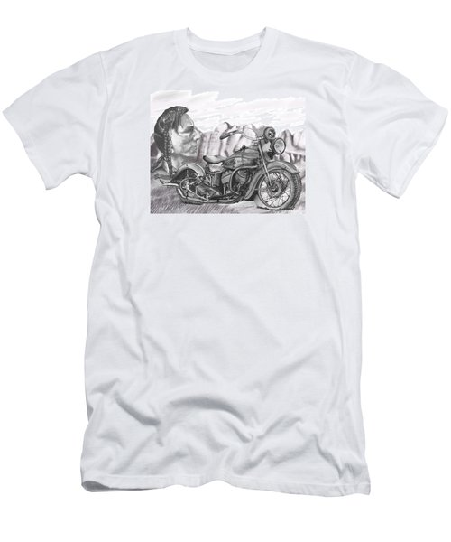 39 Scout Men's T-Shirt (Slim Fit) by Terry Frederick
