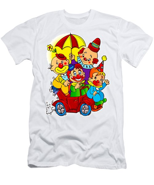 Clowns Series 01 Men's T-Shirt (Athletic Fit)