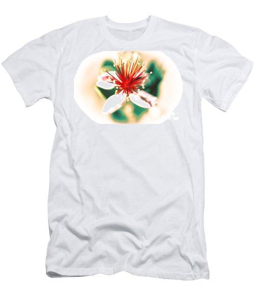 Men's T-Shirt (Slim Fit) featuring the photograph Flower by Gunter Nezhoda