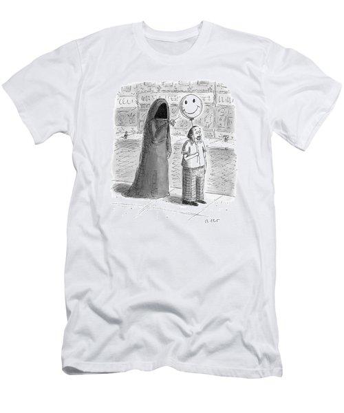 New Yorker September 26th, 2016 Men's T-Shirt (Athletic Fit)